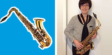 blaas instrument saxofoon docent lilian cleven 2